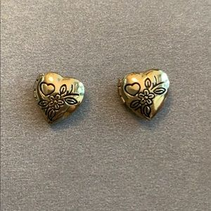 Urban Outfitters Heart Locket Earrings